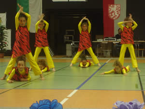 Die Lollipop Dancer in Gera