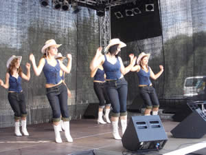 Wild West mit den Happy Dancern
