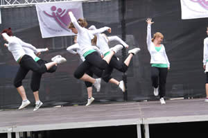 Die Fire Dancer mit Get`cha