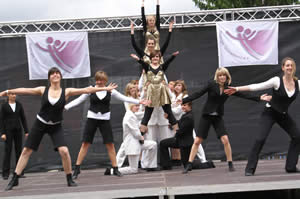 Unser Finale mit Blues brother